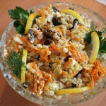 Салат из перловой каши
