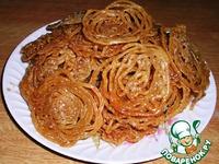 Jalebi (Джалеби) – излюбленное лакомство индийских сладкоежек ингредиенты