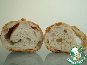 Рецепт Хлеб на двух опарах с итальянскими сырами и травами