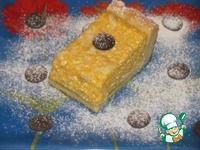 Пирог с творожно-тыквенной начинкой ингредиенты