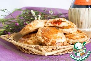 Рецепт Итальянские слоеные пирожки
