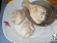 Куриные ножки в ажурных чулочках ингредиенты