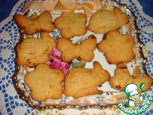 Рецепт Итальянское печенье с изюмом