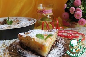 Рецепт Грушевый пирог по-итальянски