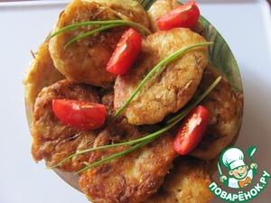 Рецепт Постные оладушки с капустой