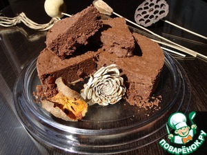 Рецепт Шоколадный кейк с оливковым маслом