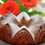 Туринский фруктовый пирог с вяленой клюквой