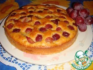 Рецепт Итальянский пирог с виноградом
