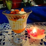 Апельсиновый десерт по-итальянски