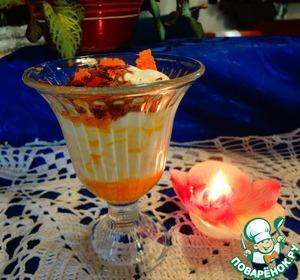 Рецепт Апельсиновый десерт по-итальянски