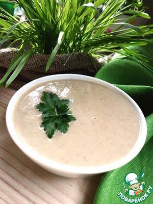 Рецепт Суп-пюре из цукини и шампиньонов