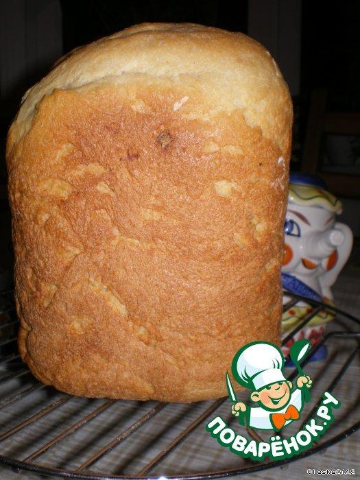 кукурузный хлеб на кефире в мультиварке