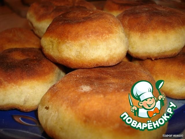 рецепт жареных пирожков с капустой на сковороде на кефире