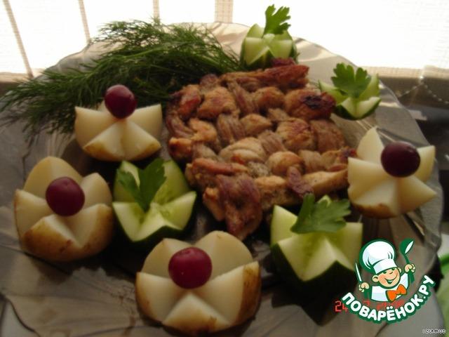 Как готовить Плетеная мясная котлета простой рецепт с фото пошагово #4