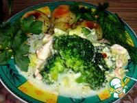 Запеканка из лосося и брокколи ингредиенты