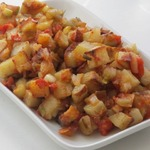 Картофель с чесноком и не только