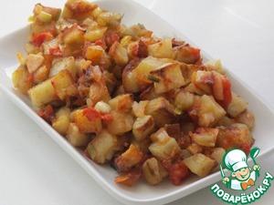 Рецепт Картошечка с чесночком и не только