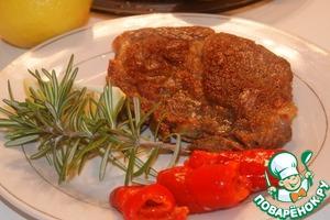 Рецепт Ароматный свиной стейк
