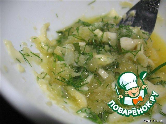 Хрустящий батон, запеченный с чесноком и сыром вкусный пошаговый рецепт с фото #4