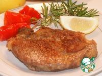 Ароматный свиной стейк ингредиенты