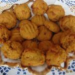 Постное медово-апельсиновое печенье