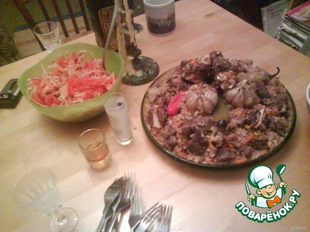 Плов по фергански пошаговый рецепт с фото