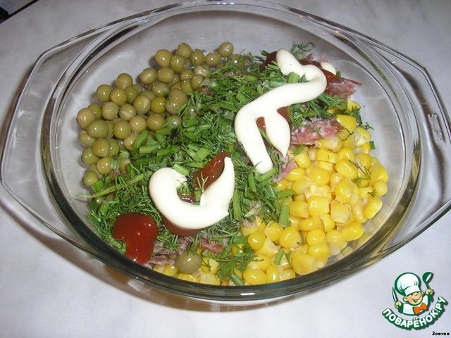 салат за 5 минут с фото