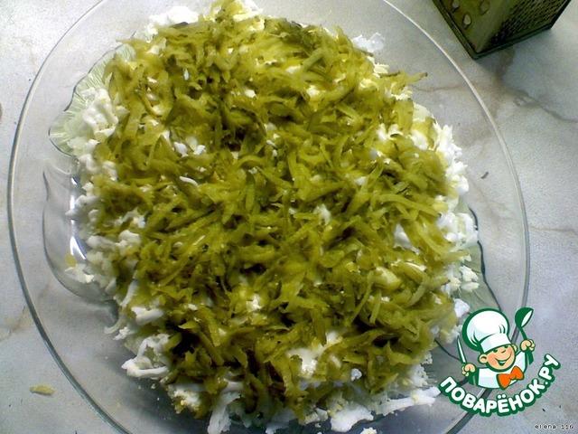 """Салат """"Кардинал"""" домашний рецепт приготовления с фото пошагово как приготовить #3"""
