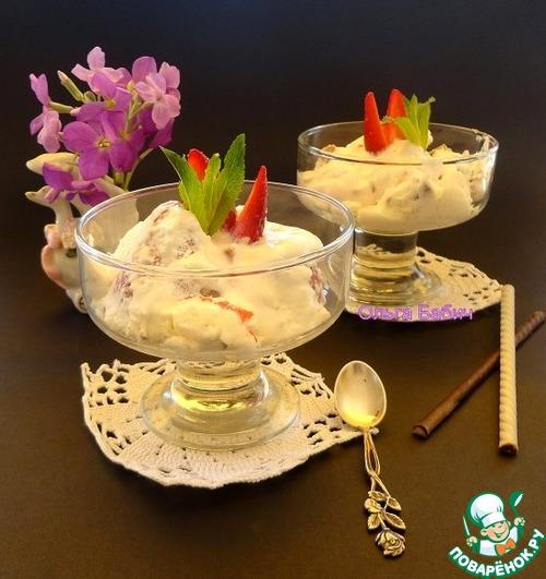 Сицилийская кассата, замороженный десерт