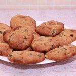Печенье с шоколадом и черносливом