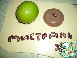Рецепт Десерт из фасоли пинто с лаймом и ванилью