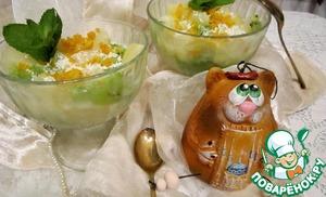 Рецепт Маседуан с апельсиновым ликером