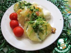 Рецепт Запеканка из картофеля и цуккини