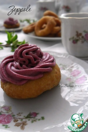 Рецепт Пончики Зепполе