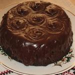"""Шоколадный торт """"Гречанка"""" из гречневой муки"""