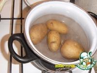 Картофельный рулет с грибами ингредиенты