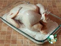 Курица на соли ингредиенты