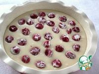 Пирог с вишней ингредиенты