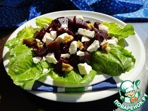 Рецепт Свекольный салат с фетой