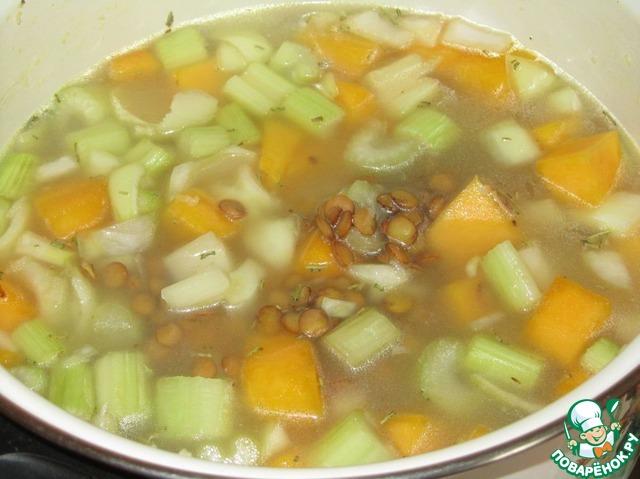 тыквенный суп в блендере рецепт