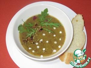 Рецепт Постный тыквенный суп-пюре с чечевицей
