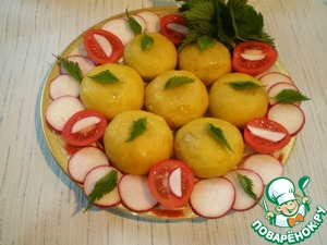 Колобки с крапивой простой рецепт приготовления с фото