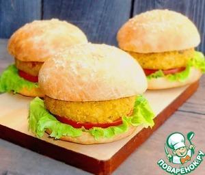 Как приготовить Постные гамбургеры рецепт с фотографиями пошагово