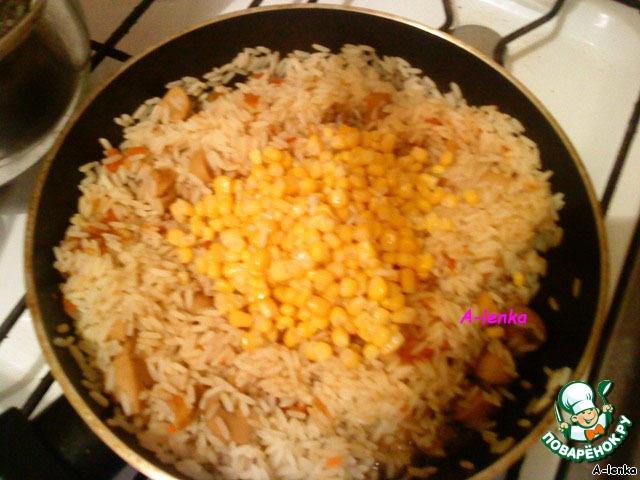 Как приготовить рис с грибами пошаговый рецепт