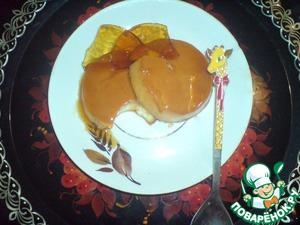 Рецепт Крем-карамель с ноткой апельсина и корицы