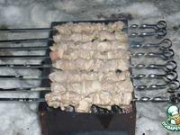 Шашлык из свинины на кефире ингредиенты