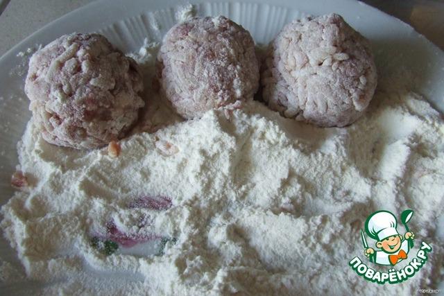 Ежики с подливкой рецепт с фото пошагово