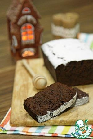 Рецепт Черемуховый постный кекс на меду