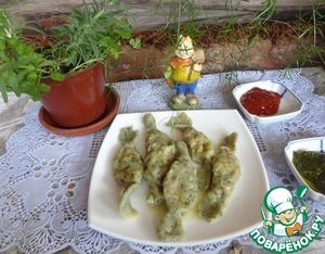 Рецепт Детские весенние равиоли