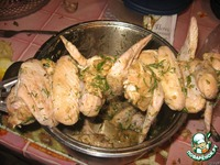 Куриные крылышки в духовке ингредиенты